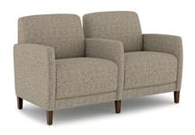 Fully Upholstered Tandem Seating