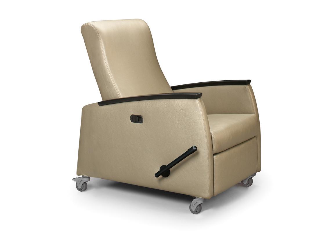 Medical recliner chair health management and leadership for Ruhesessel leder