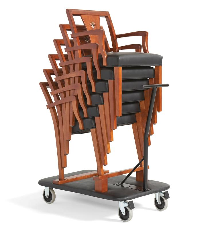 858p stacking chairs