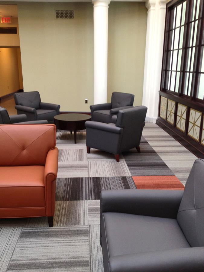 Installation Emory University Libraries Trinity Furniture