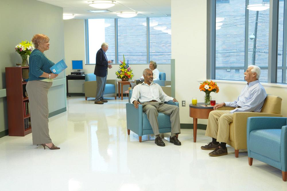Installation: Jamaica Hospital - Trump Pavilion For Nursing